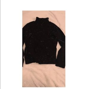 black turtle neck shirt ☆ ☆